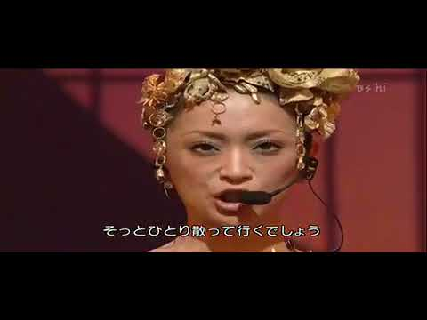 浜崎あゆみ Moments 2004紅白歌合戦 - YouTube