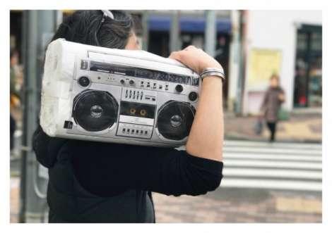 かついで帰ればミュージシャン気分 マツキヨの「ラジカセ」トイレットペーパー誕生の背景 | ORICON NEWS