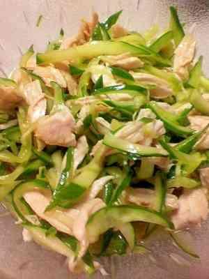 ささみときゅうりの中華風酢の物 レシピ・作り方 by ムーミンママ24|楽天レシピ