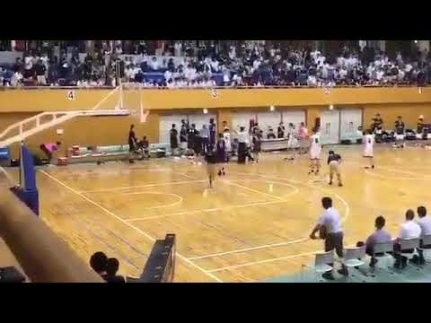 【バスケ】延岡学園の留学生が審判を殴り倒す - YouTube