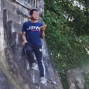 東南アジアで世界遺産に迷惑行為を繰り返す「アイ・アム・ジャパニーズ!」男を直撃! すると、流暢な韓国語を…… - 日刊サイゾー