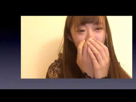 NGT48 中井りか 謝罪、号泣 SHOWROOM配信 - YouTube
