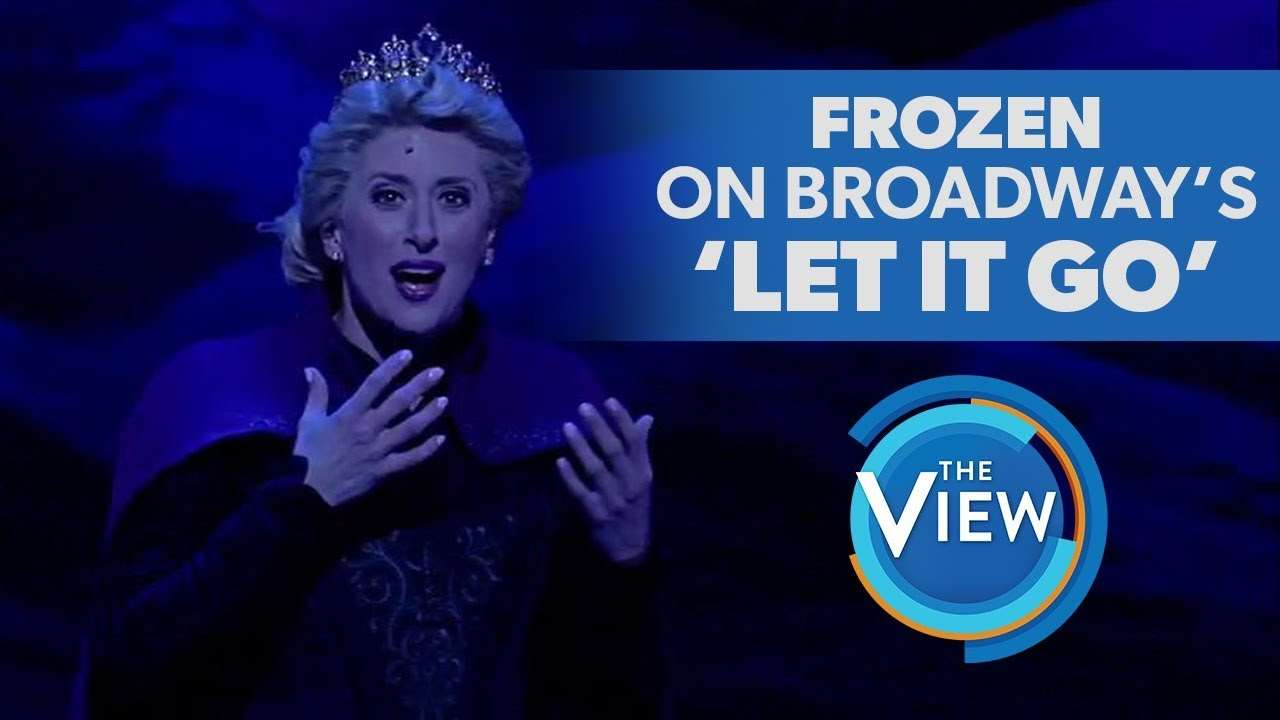 Frozen The Broadway Musical's Caissie Levy Performs 'Let It Go' - YouTube