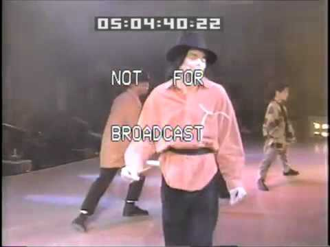 Michael Jackson Dangerous World Tour 1993 Rehearsal - Dangerous #2 - (Orange Shirt) - YouTube