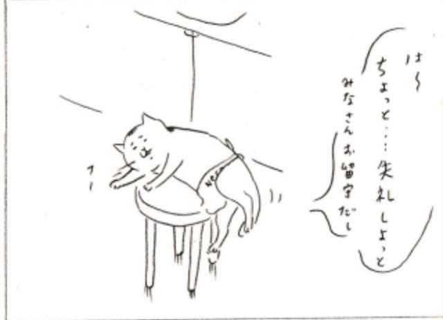 きょうの猫村さん に癒される