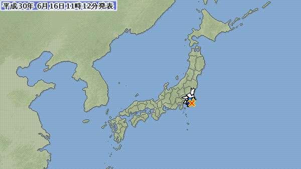2018年06月16日スロースリップの千葉で再び6回の地震、千葉県南部5連発が示す過去の不気味データとは - 地震ニュース