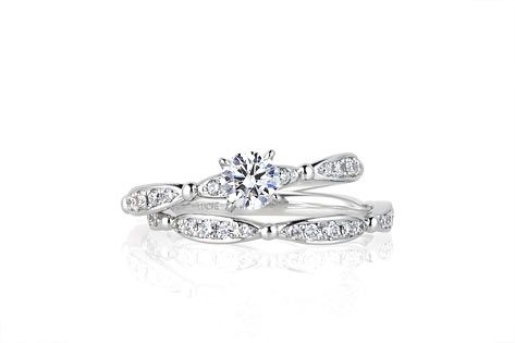 結婚指輪がハーフエタニティ