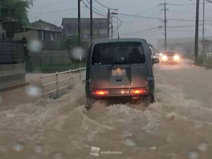 福岡、佐賀、長崎で大雨特別警報が発表(ウェザーニュース) - Yahoo!ニュース