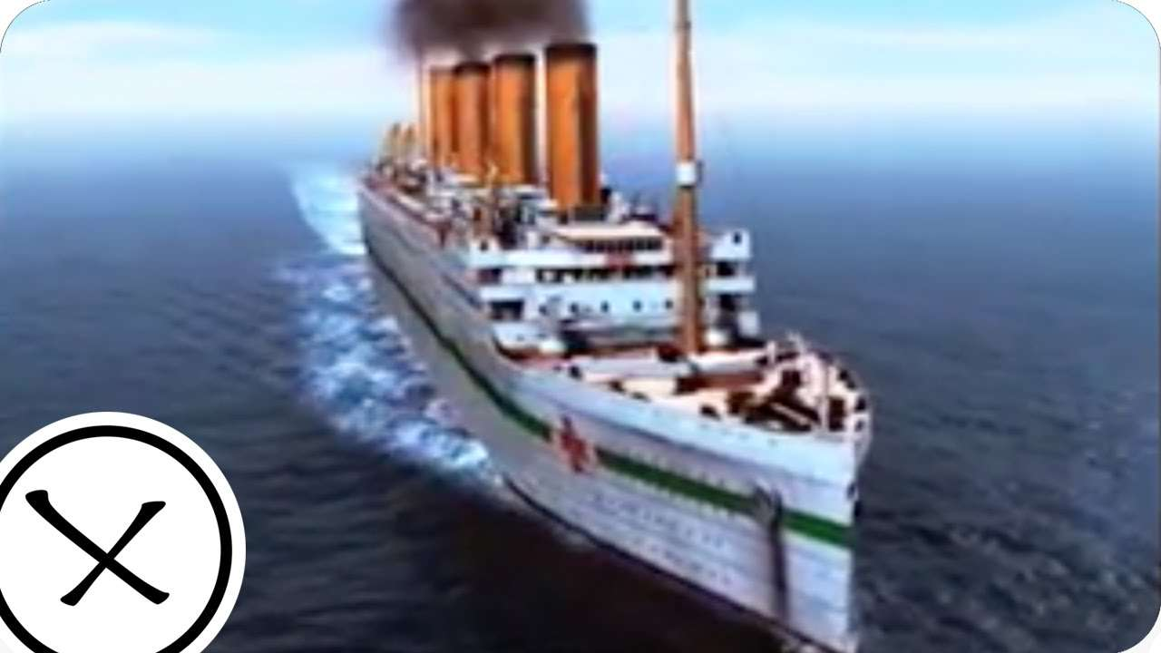 The Sinking of the Britannic - YouTube
