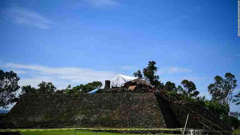 CNN.co.jp : ピラミッド内に古代寺院の遺構、大地震で姿現す メキシコ