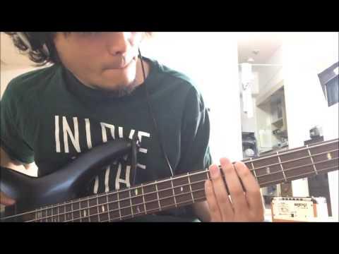 フーバーオーバー/ 炭酸水 ベースカバー 弾いてみた - YouTube