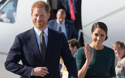 ハリー王子&メーガン妃のアイルランド訪問に11人のスタッフが随行|エル・ガール オンライン