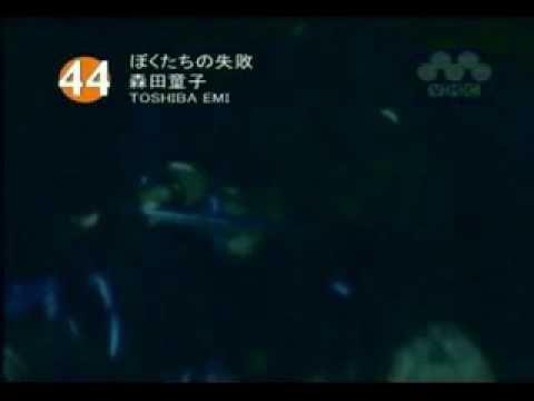 【Music Video】森田童子「ぼくたちの失敗」 - YouTube