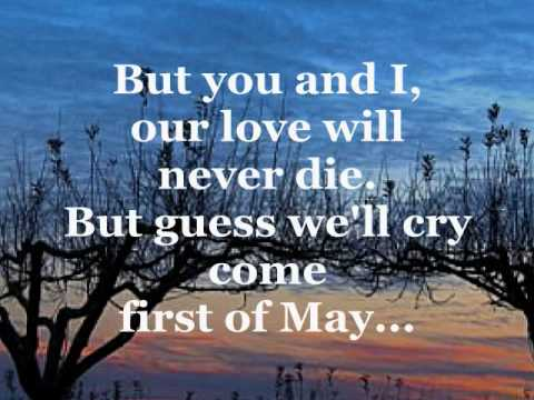 FIRST OF MAY (Lyrics) - THE BEE GEES - YouTube