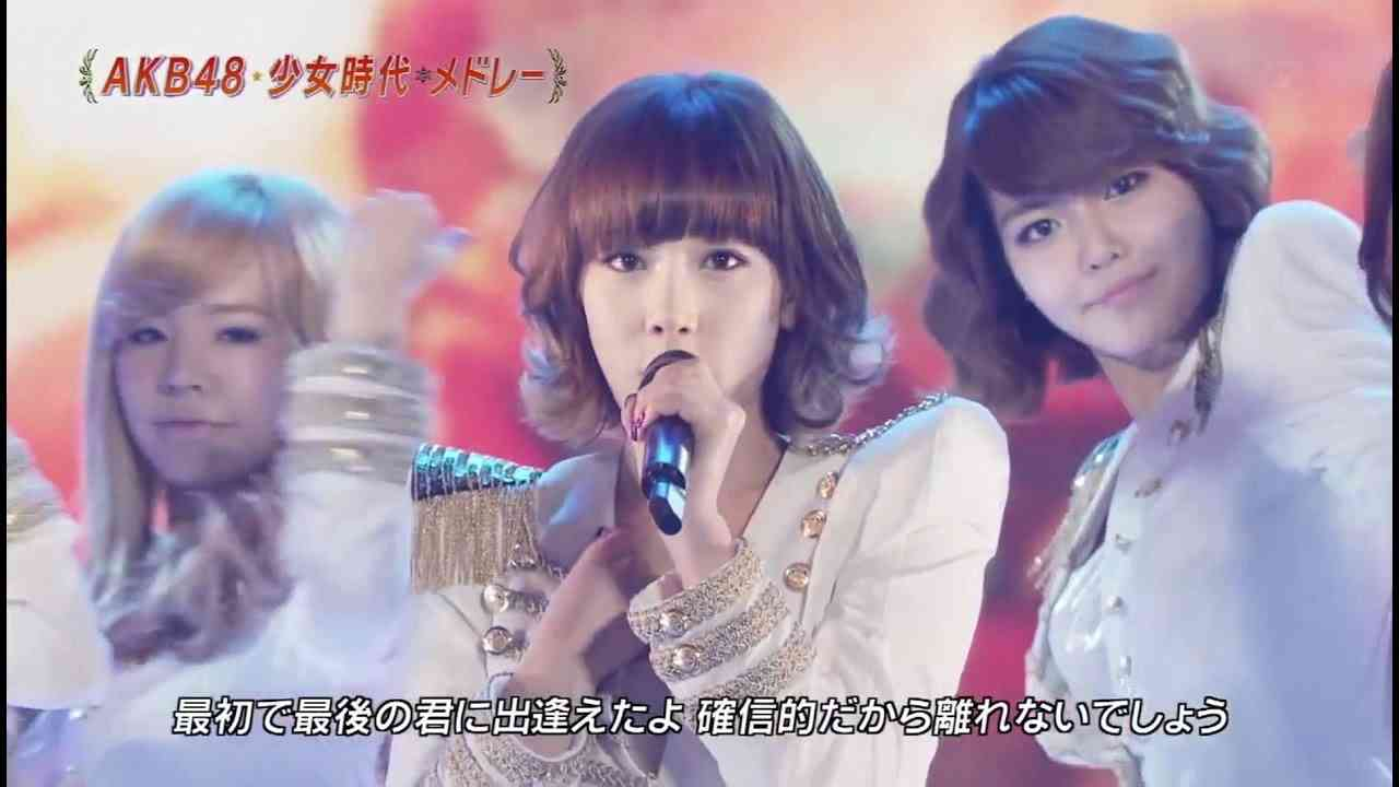 AKB48 & SNSD Live Performance FNS festival [101204] - YouTube