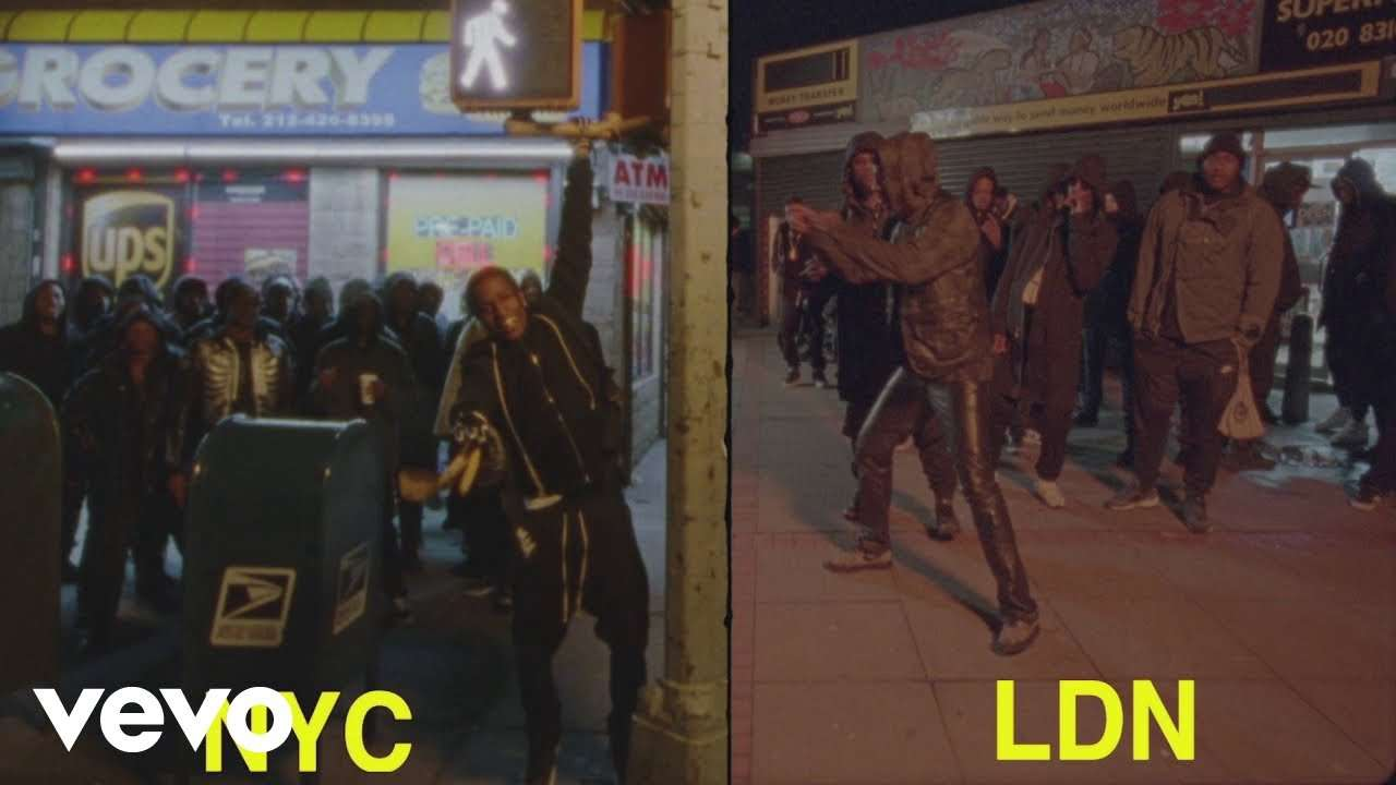 A$AP Rocky - Praise The Lord (Da Shine) (Official Video) ft. Skepta - YouTube