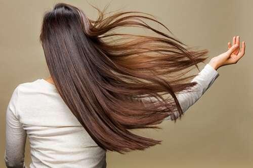 髪の艶を出すには。