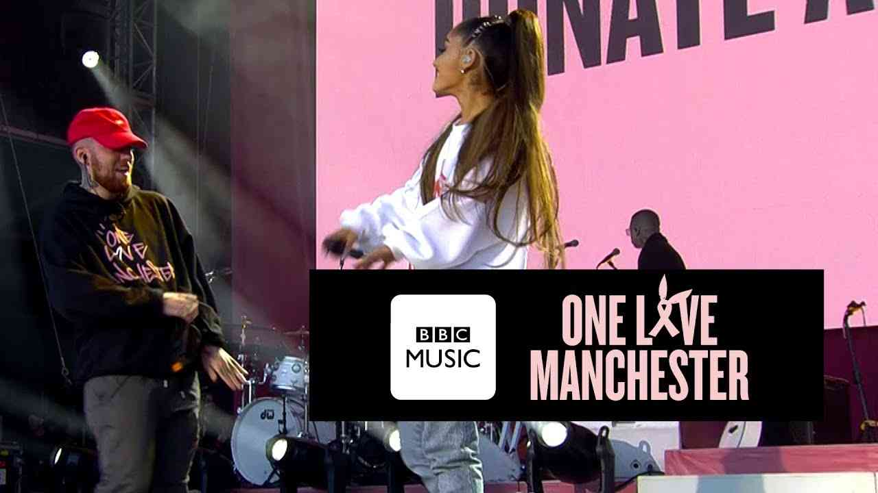 Mac Miller and Ariana Grande - The Way (One Love Manchester) - YouTube