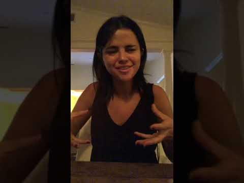 Selena Gomez Instagram Live 22 Sep - YouTube