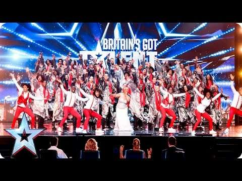 The 100 Voices Of Gospel go for gold! | Week 2 Auditions | Britain's Got Talent 2016 - YouTube