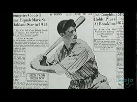 Joe DiMaggio Biography: Life and Career of Baseball's Yankee Clipper - YouTube