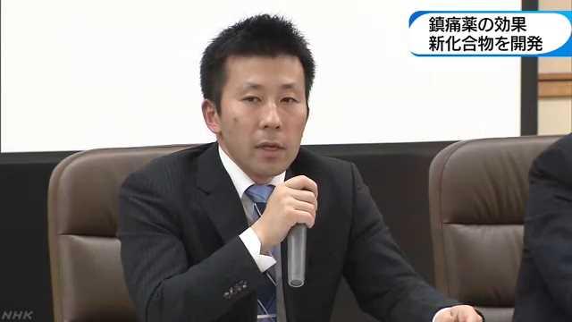 鎮痛薬の効果 新化合物を開発 NHK 和歌山県のニュース