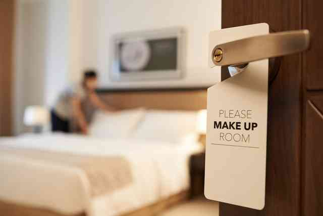 ビジネスホテルの客室清掃員してる人