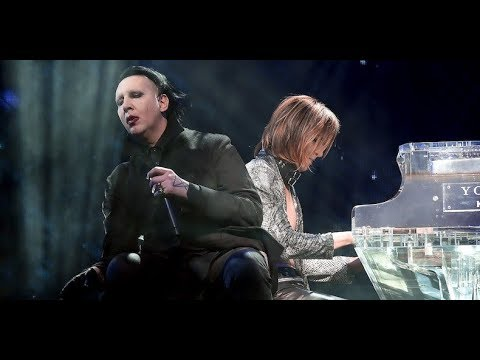 X Japan with Marilyn Manson - Sweet Dreams | Live Coachella 2018 - Saturday, April 21th (Weekend 2) - YouTube