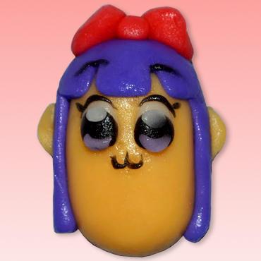 ポプ子とピピ美がデザインされた和菓子発売 「ポプ子とピピ美が可愛くない和菓子になりました!」