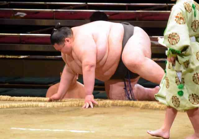 歴代最重量292キロの力士引退「がりがりになりたい」