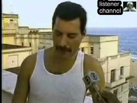 Freddie Mercury interview in Brazil, 1985 (russian subs) - YouTube