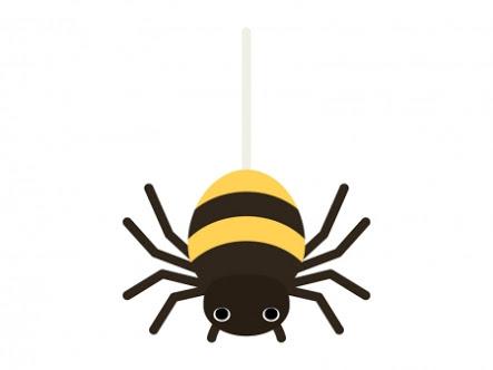 蜘蛛が苦手な人