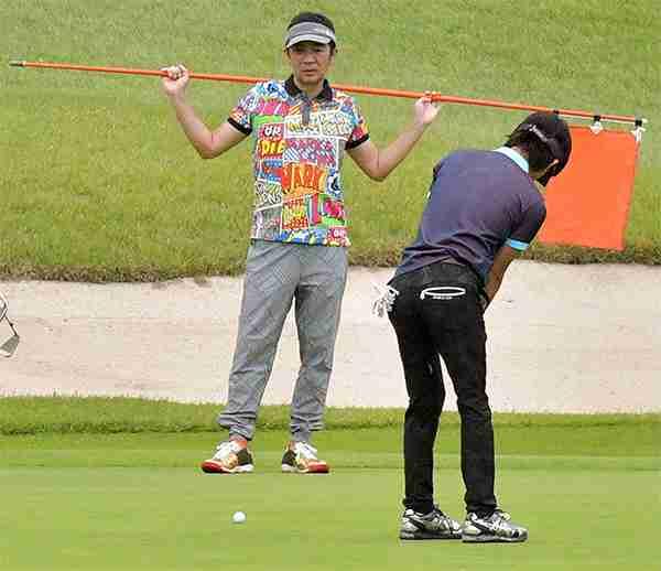 さんま、マツコの次はミヤネ!? 木村拓哉のプライベートゴルフが「ご意見番を押さえてて笑う」と話題に