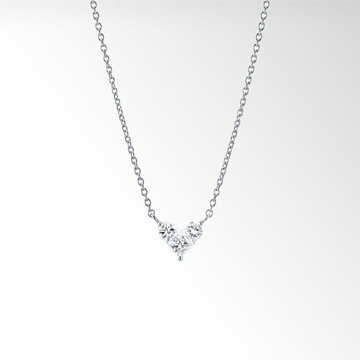 STAR JEWELRY|MYSTERIOUS HEART DIAMOND NECKLACE (1XN0652)|ネックレス