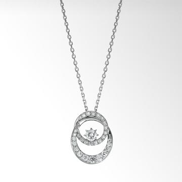 STAR JEWELRY|TWO UNIVERSE DIAMOND NECKLACE (1XN0704)|ネックレス